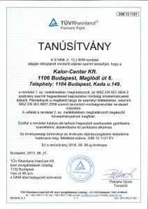 msz en iso 3834-2 uzemalkalmassagi tanusitvany melleklete2014